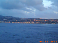 panorama di Messina vista dal mare  - Messina (6275 clic)