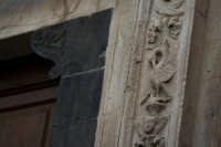 Dettaglio del portale cinquecentesco della Chiesa di San Gaetano(Set. 2006)  - Santo stefano briga (4498 clic)