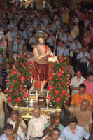 Processione della statua rappresentante il Santo Patrono del luogo, San Giovanni Battista (24 06 2007)  - Santo stefano briga (7361 clic)