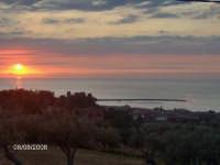 TRAMONTO DALLA CONTRADA SERRABERNARDO  - Sant'agata di militello (6190 clic)