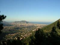 Palermo vista dai pressi di Altofonte. PALERMO Antonino Zito