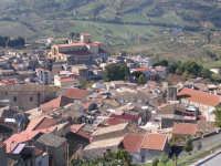 Panoramica sui tetti di Chiusa.In fondo la Chiesa Madre.  - Chiusa sclafani (2097 clic)