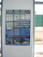 23/05/2009 inaugurazione della piscina comunale e del complesso monumentale Badia  - Chiusa sclafani (5372 clic)
