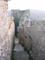 Centro storico.Quello che doveva essere una torre di avvistamento.(Il castello)   - Prizzi (5227 clic)