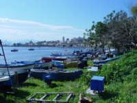 veduta  dal rione  vaccarella della marina garibaldi  - Milazzo (5827 clic)