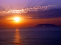 tramonto  - Milazzo (7880 clic)