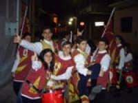 Gli Sbandieratori e Musici Leoni Reali omaggiano il santo Patrono (S.Antonio Abate 17 gennaio Camporotondo Etneo)  - Camporotondo etneo (2371 clic)