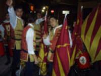 Gli Sbandieratori e Musici Leoni Reali omaggiano il santo Patrono (S.Antonio Abate 17 Gennaio Camporotondo Etneo).  - Camporotondo etneo (3043 clic)
