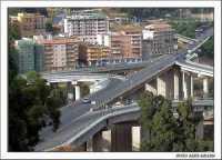 Svincolo via Imera visto dalla via Plebs Rea  - Agrigento (3285 clic)