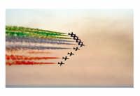 esibizione frecce tricolore sulla timpa di Acireale  - Acireale (3279 clic)