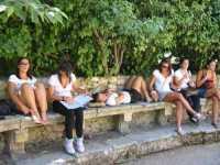 Leonforte - Festa dello Sport - 29 agosto 2009 - Le atlete della Polisportiva Castellammare.  - Leonforte (9096 clic)