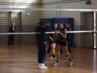 Buseto - 28 gennaio 2007 - palestra scuola media- campionato di I^ divisione volley femminile     Fo