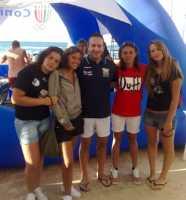 Il team del Mondial Enna alla Coast Cup 2009 - Castellammare Golfo (TP) 7-11 luglio   - Enna (4979 clic)