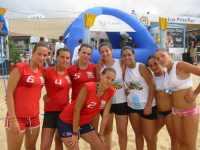 I team del Mondial Enna e Pol. Castellammare -  Coast Cup 2009 - Spiaggia plaia Castellammare del Golfo (TP)  - Enna (6401 clic)