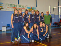 Volley femminile - Centro Carne Castellammare - gennaio 2008 -  - Castellammare del golfo (1781 clic)