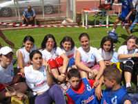 Trapani - stadio provinciale 22 maggio 2007 - Manifestazione Scolastica Provinciale 1,2,3... volley--- foto di gruppo x i giovani atleti di Campobello di Mazara  - Trapani (1758 clic)