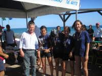 Summer Cup 2005 -beach volley femminile-la premiazione.   - Triscina (2884 clic)