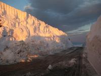 la ...muraglia di neve   - Nicolosi (3321 clic)