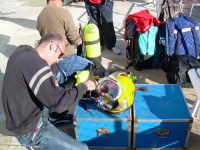 foto dal corso 01/PA/2006 per Operatore Tecnico Subacqueo Specializzato - CEDIFOP - PALERMO PALERMO
