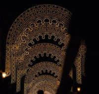 Luminarie e silhouette al Cassaro -Palermo, 15.7.2006 382° Festino di Santa Rosalia PALERMO Rino Po
