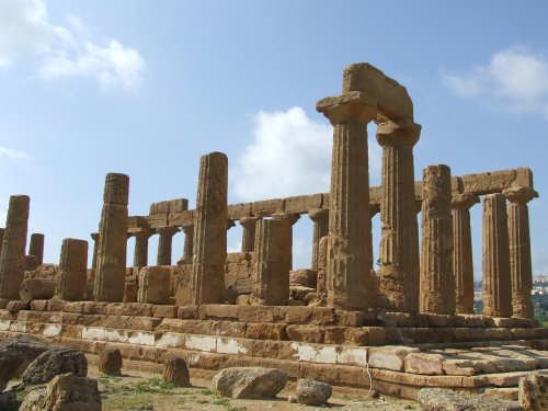 tempio di giunone - AGRIGENTO - inserita il