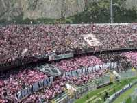 Stadio Barbera per Palermo-Sampdoria,grande tifo (7467 clic)