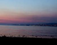 tramonto sul mare  - San leone (8546 clic)