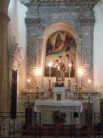 Interno della Chiesa Collegiata del San Salvatore   - Agira (3443 clic)