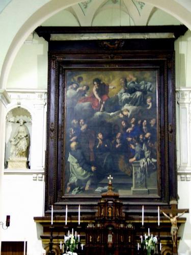 Altare della Chiesa dei Cappuccini del XVII sec. - LEONFORTE - inserita il 17-May-11
