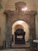 Tomba della Principessa di Branciforte nella chiesa dei Capuccini   - Leonforte (3464 clic)