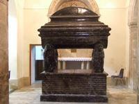Tomba della Principessa di Branciforte nella chiesa dei Capuccini   - Leonforte (3903 clic)