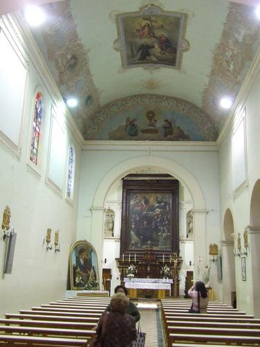 Interno della chiesa dei Capuccini - LEONFORTE - inserita il 17-May-11