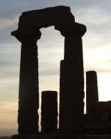 colonne del tempio di giunone   - Agrigento (2104 clic)