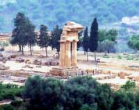tempio di castore e polluce   - Agrigento (2941 clic)