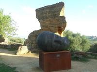 Valle dei Templi e statue di Mitoraj   - Agrigento (2267 clic)