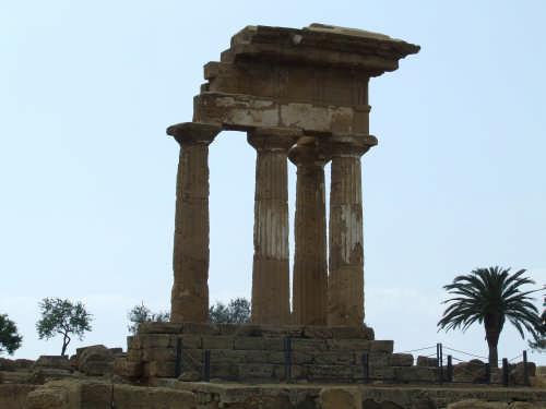Tempio di Dioscuri - AGRIGENTO - inserita il