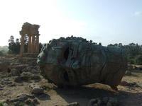 Valle dei Templi e Statue di Mitoraj   - Agrigento (2995 clic)