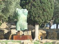Valle dei Templi e Statue di Mitoraj   - Agrigento (2835 clic)