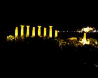 Tempio Di ercole di notte  - Agrigento (3255 clic)