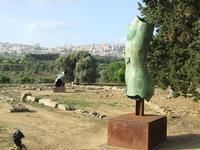 Valle dei Templi e Statue di Mitoraj   - Agrigento (3294 clic)