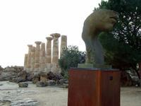 Valle dei Templi e Statue di Mitoraj   - Agrigento (3801 clic)