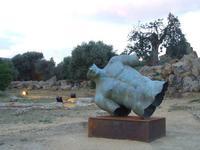 Valle dei Templi e Statue di Mitoraj   - Agrigento (2957 clic)