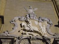 Cattedrale con San Vito che schiaccia l'Arabo   - Mazara del vallo (1643 clic)