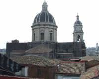 Panorama che si vede dalla terrazza del BeB San Placido Inn dove abbiamo alloggiato  - Catania (1836 clic)
