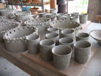 Laboratorio artistico...... Terrecotte  - Burgio (2700 clic)