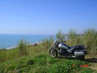 Contrada cipollazzo... Moto e mare grandi passioni  - Porto palo di menfi (2518 clic)