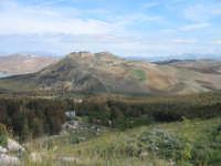 Suggestivo paesaggio dell'entroterra siciliano. Vista da Rocca D'Entella  - Contessa entellina (2444 clic)