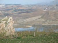 Suggestivo paesaggio dell'entroterra siciliano. Vista da Rocca D'Entella  - Contessa entellina (3106 clic)