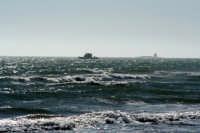 Panoramica del mare di S.M.del Focallo in lontananza l' isola dei Porri. ISPICA ROSARIO DINATALE