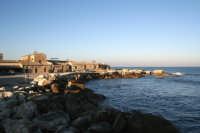 La costa della piccola citta' marinara.  - Marzamemi (2415 clic)